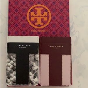 Tory Burch Adhesive Phone card case